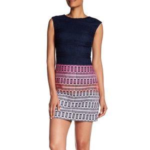 NWT Ted Baker Dahil Marina Mosaic Lace Dress